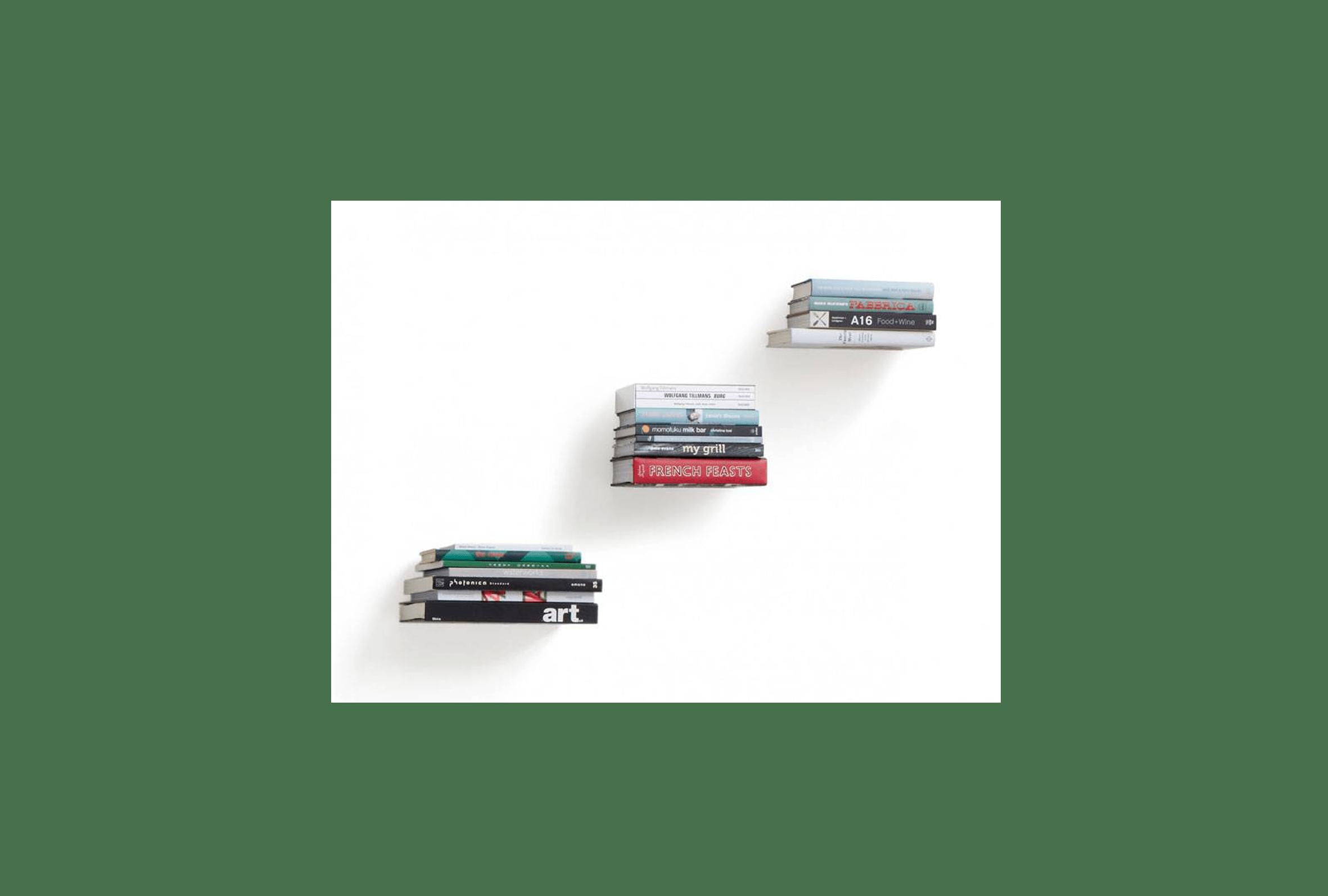 Conceal Boekenplank Umbra : Verborgen boekenplank designaccessoires