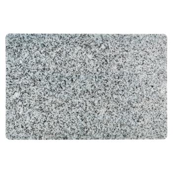 Plastic placemat granietstructuur zwart of grijs Galzone