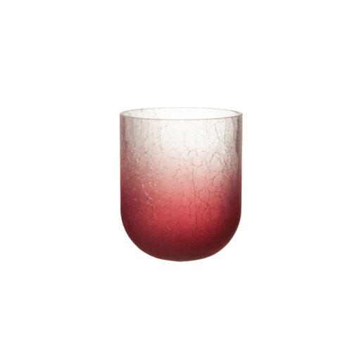 kaarshouder gebarsten glas