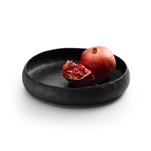 Metalen fruitschaal
