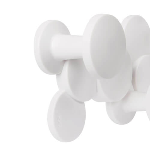 Moderne kapstok wit