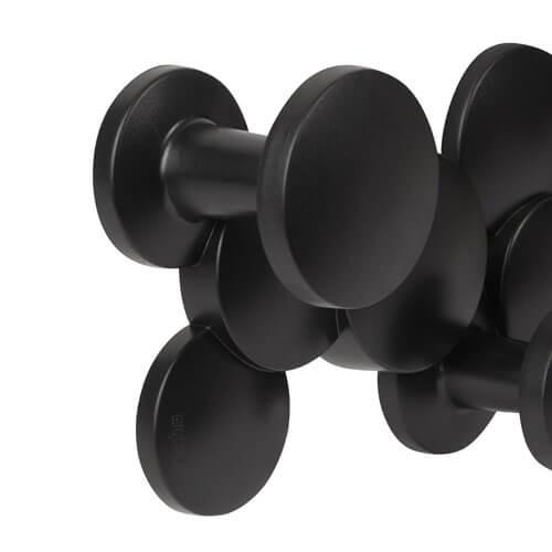 Moderne kapstok zwart