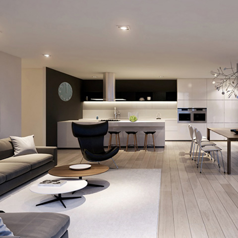 Moderne woondecoratie